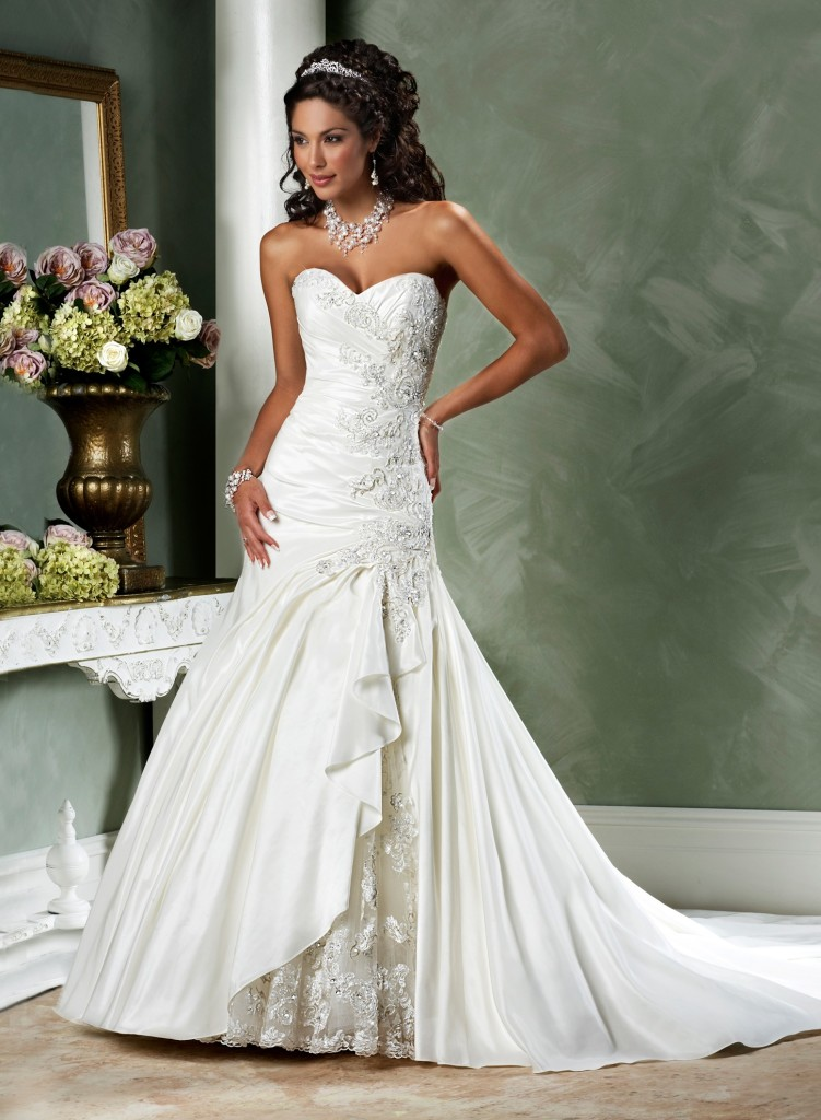 Strapless wedding dresses gcmweddings for Best bustier for strapless wedding dress