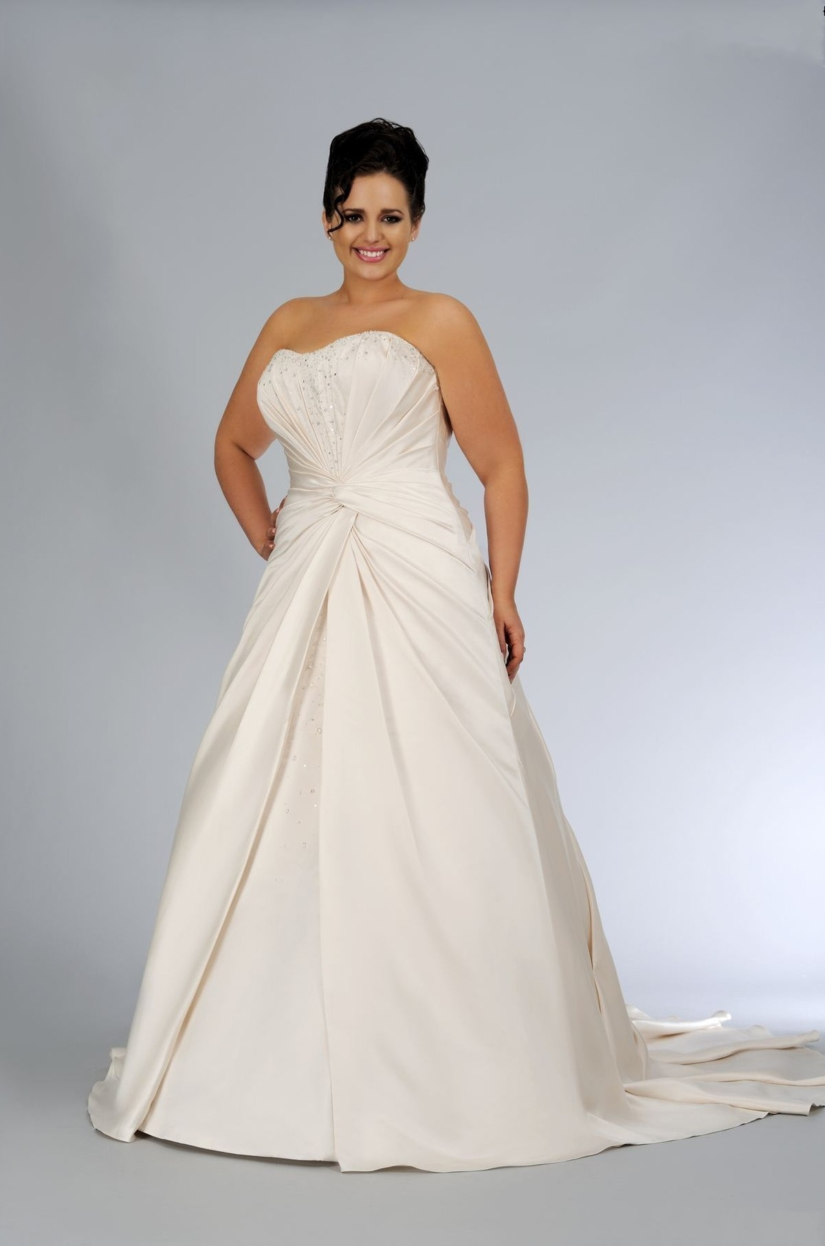 plus size wedding dresses — Inexpensive Economy size Bridal gown ...